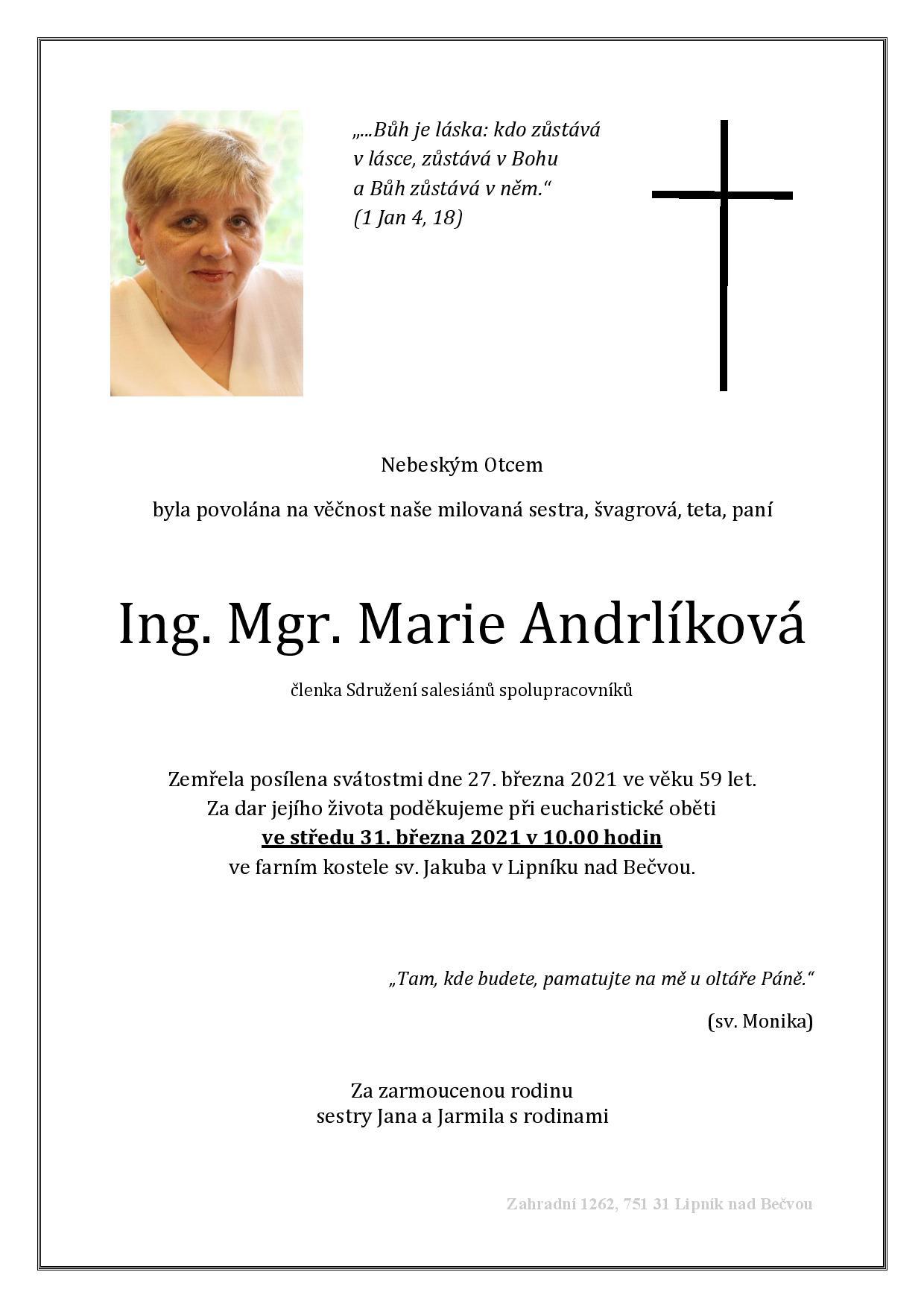 parte Maruška Andrlíková